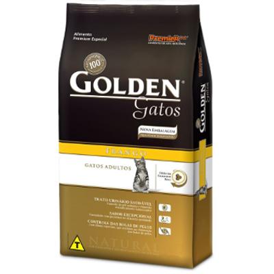 61- Imagem Ração Golden Gatos Adultos Frango 3 kg