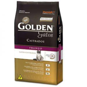 63- Imagem Ração Golden Gatos Castrados Frango 1 kg