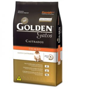 64- Imagem Ração Golden Gatos Castrados Salmão 1 kg