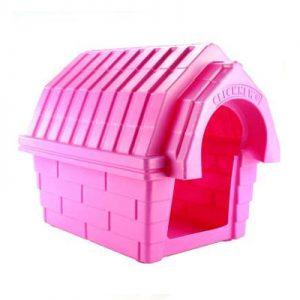 Casa de cachorro Click New Rosa