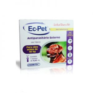 Ec-Pet Antiparasitário Externo cães acima de 40 Kg