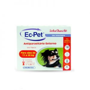 Ec-Pet Antiparasitário Externo cães entre 11 a 20 Kg