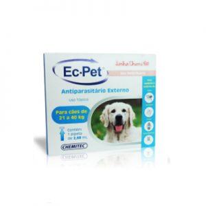 Ec-Pet Antiparasitário Externo cães entre 21 a 40 Kg