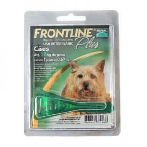 Frontline Plus cães ate 10 Kg